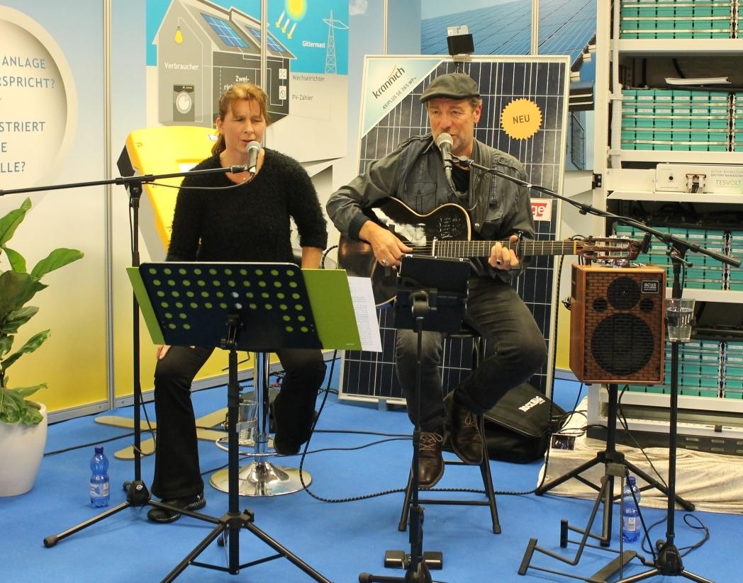 Der Abend ging musikalisch gut weiter mit JANSEN unplugged